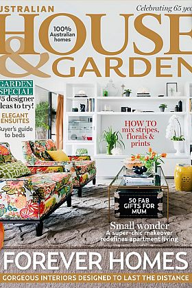 House & Garden Cover May 2013